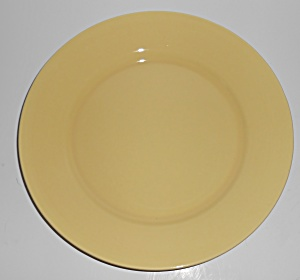 Franciscan Pottery El Patio Gloss Yellow Dinner Plate