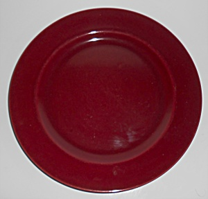 Franciscan Pottery El Patio Maroon Dinner Plate (Image1)
