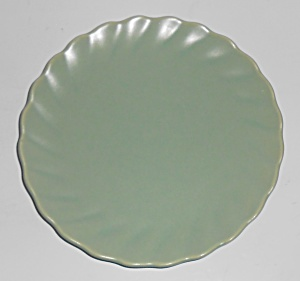 Franciscan Pottery Wishmaker Green Bread Plate