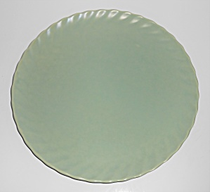 Franciscan Pottery Wishmaker Green Dinner Plate