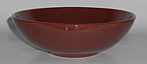 Franciscan Pottery El Patio Redwood Gloss Vegetable B