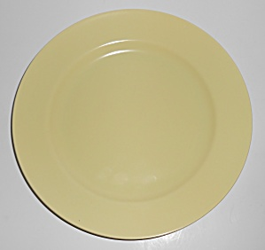 Franciscan Pottery El Patio Satin Yellow Luncheon Plate