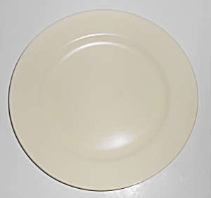 Franciscan Pottery El Patio Satin Ivory Luncheon Plate