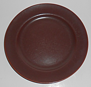 Franciscan Pottery El Patio Redwood Gloss Luncheon Pl