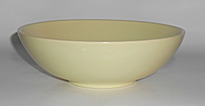 Franciscan Pottery El Patio Satin Yellow Vegetable Bowl (Image1)