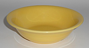 Franciscan Pottery El Patio Gloss Yellow Cereal Bowl
