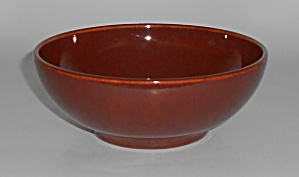 Franciscan Pottery El Patio Early Redwood Gloss Cereal  (Image1)