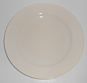 Franciscan Pottery El Patio Gloss White Luncheon Plate