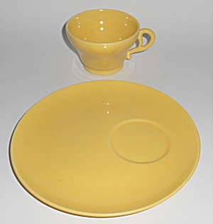 Franciscan Pottery El Patio Gloss Yellow Snack Plate /