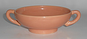 Franciscan Pottery El Patio Gloss Coral Cream Soup Bowl