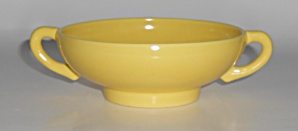 Franciscan Pottery El Patio Bright Gloss Yellow Cream