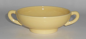 Franciscan Pottery El Patio Gloss Yellow Cream Soup Bow