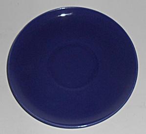 Franciscan Pottery El Patio Cobalt Cream Soup Saucer (Image1)