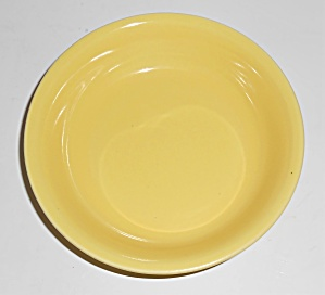 Franciscan Pottery El Patio Gloss Yellow Fruit Bowl (Image1)