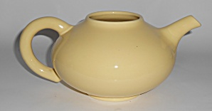 Franciscan Pottery El Patio Gloss Yellow Teapot