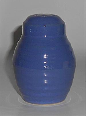 Bauer Pottery Ring Ware Cobalt Barrel Shaker (Image1)