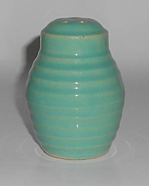 Bauer Pottery Ring Ware Jade Barrel Shaker (Image1)