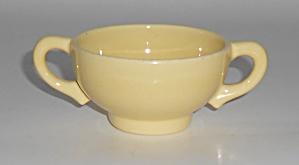 Franciscan Pottery El Patio Gloss Yellow Demitasse Sug (Image1)