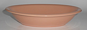 Franciscan Pottery El Patio Gloss Coral Oval Vegetable  (Image1)
