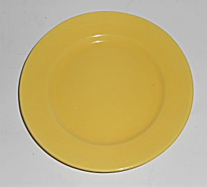 Franciscan Pottery El Patio Gloss Yellow Bread Plate (Image1)