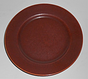 Franciscan Pottery El Patio Redwood Gloss Bread Plate (Image1)