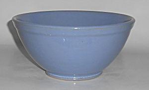 Bauer Pottery Plain Ware Delph #18 Mixing Bowl
