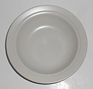 Franciscan Pottery Montecito Satin Grey Vegetable Bowl (Image1)