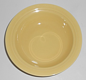 Franciscan Pottery Montecito Gloss Yellow Cereal Bowl
