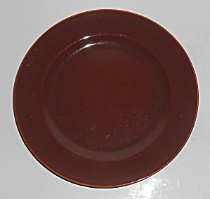 Franciscan Pottery El Patio Redwood 7.5'' Plate (Image1)