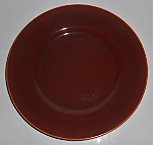 Franciscan Pottery El Patio Gloss Redwood Salad Plate