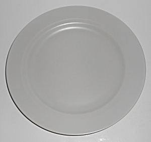 Franciscan Pottery Montecito Satin Grey Dinner Plate