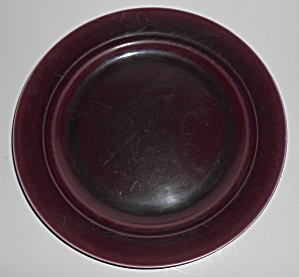 Franciscan Pottery Montecito Eggplant Dinner Plate (Image1)