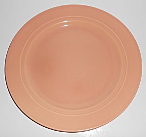 Franciscan Pottery Montecito Gloss Coral Dinner Plate