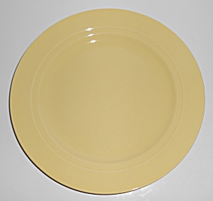Franciscan Pottery Montecito Gloss Yellow Dinner Plate