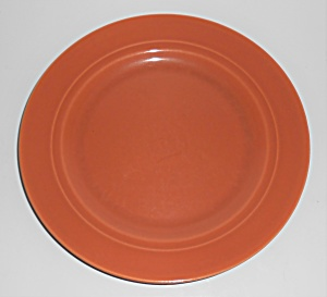 Franciscan Pottery Montecito Gloss Copper Lunch Plate