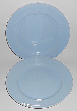 Franciscan Pottery Montecito Gloss Light Blue Lunch Pl