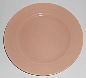 Franciscan Pottery Montecito Satin Coral Salad Plate