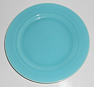 Franciscan Pottery Montecito Gloss Turquoise Dessert Pl (Image1)