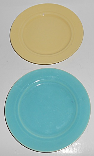 Franciscan Pottery Montecito Pair Bread Plates