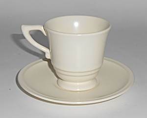 Franciscan Pottery Montecito Satin Ivory Demitasse Cup/