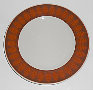 Franciscan Pottery Terra Cotta Bread Plate (Image1)