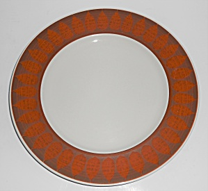 Franciscan Pottery Terra Cotta Dinner Plate (Image1)