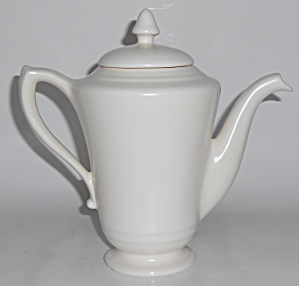 Franciscan Pottery Montecito Satin Ivory Demi Coffee  (Image1)