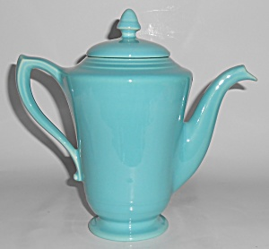Franciscan Pottery Montecito Gloss Turquoise Demi Coffe