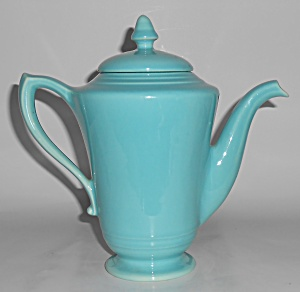 Franciscan Pottery Montecito Gloss Turquoise Demi Coffe (Image1)