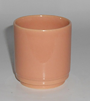 Franciscan Pottery Montecito Gloss Coral Juice Tumbler