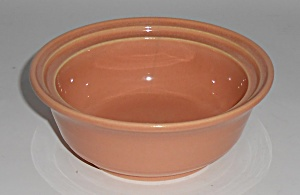 Franciscan Pottery Montecito Gloss Coral Covered Soup