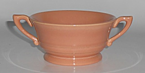 Franciscan Pottery Montecito Gloss Coral Cream Soup B