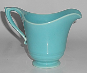 Franciscan Pottery Montecito Gloss Turquoise Creamer  (Image1)