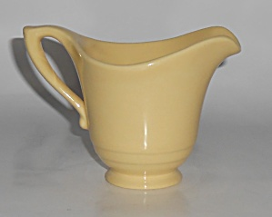 Franciscan Pottery Montecito Gloss Yellow Creamer